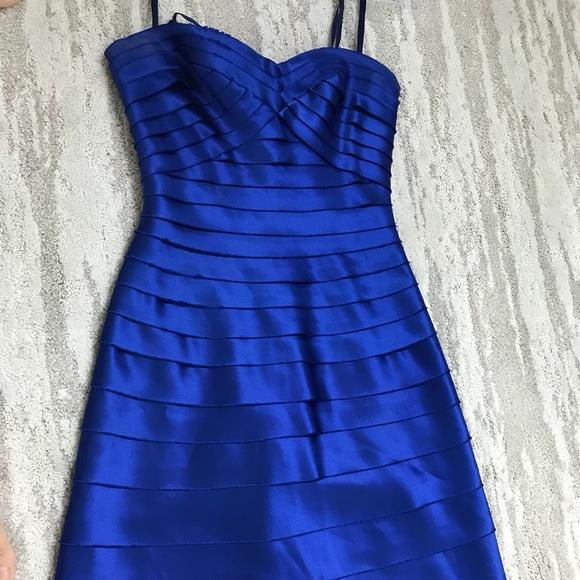 BCBG Dresses & Skirts - BCBG BluSaphire Blue Long Dress Floor Length 0